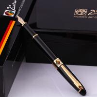 帕弗洛纯黑14K金笔钢笔当当自营