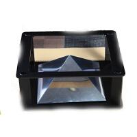全息3D投影仪ipad平板电脑 金字塔成像 裸眼3d4D创意礼品 深灰色 塑料支架款 其它材质