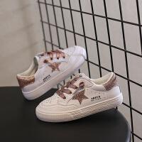 儿童板鞋春季男童小白鞋女童休闲鞋子球鞋潮鞋
