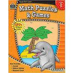 【预订】Ready-Set-Learn: Math Puzzles and Games Grd 1 [With 150