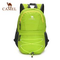 camel骆驼户外男女便携折叠双肩背包 旅游登山双肩包