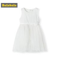 巴拉巴拉童装女童裙子儿童连衣裙夏季2019新款公主裙小童宝宝纱裙
