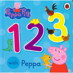 Peppa Pig: 123 with Peppa,,Penguin Books Ltd,9780723292104