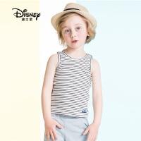 【99元3件】迪士尼童装2020夏季新款小熊维尼童装男童夏季简约休闲背心中大童