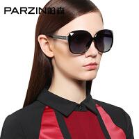 帕森太阳镜女 TR90大框修脸时尚偏光镜 司机开车潮墨镜驾驶镜9808