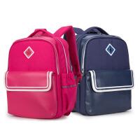卡拉羊书包 小学生男女卡通休闲双肩包儿童减负大容量防水背包 CX2753