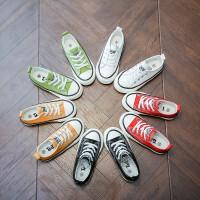 春秋儿童帆布鞋男童女童鞋运动休闲鞋