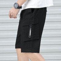 夏季短裤男士五分裤运动宽松休闲裤韩版潮流薄款沙滩男裤潮K286