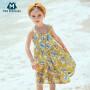 【2件4折】迷你巴拉巴拉女童吊带连衣裙夏季新品复古公主裙薄款裙子长裙