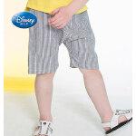 【129选3】迪士尼童装男童2020新款童装运动梭织百搭休闲透气凉爽男童五分裤