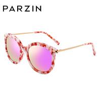 帕森太阳镜女 手造板材潮墨镜 大框修脸炫彩膜偏光镜 9656