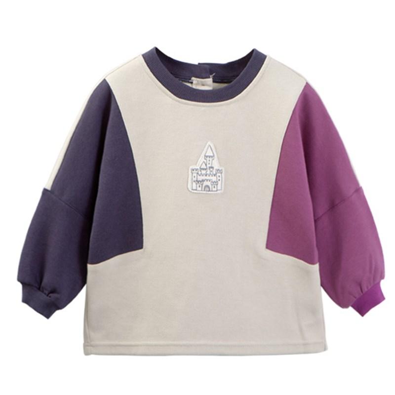儿童防水罩衣宝宝春秋罩衫吃饭衣小孩纯棉护衣男女大童长袖反穿衣