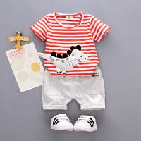 童装男童夏装宝宝短袖套装两件套儿童夏季衣服