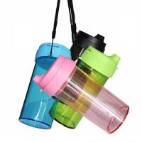 杯冷水杯创意女学生运动水壶水杯简约随手防漏随身便携颜色随机