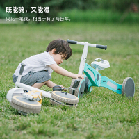 儿童变形车三轮车滑步车儿童平衡车脚踏车玩具车