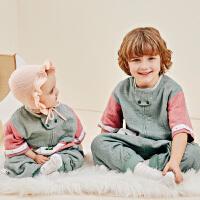 龙之涵儿童睡袋婴儿春秋四季通用纯棉夏季双层分腿睡袋宝宝防踢被中大童