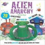 现货 Alien Anarchy: 20 Aliens to Make! Just Press Out Glue To