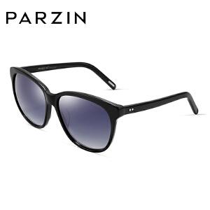 帕森偏光太阳眼镜 女士轻盈板材复古潮墨镜司机开车驾驶镜 9609