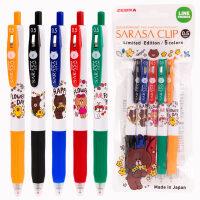 日本zebra斑马JJ15限定款甜点国度 派对彩色按动中性笔 JJ15-a2甜点国度限定版学生用考试