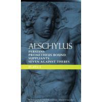 【预订】Aeschylus: Plays One