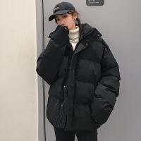 【秋冬新品】情侣男宽松帅气面包服韩版潮流棉衣男女款短款棉袄子