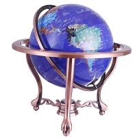 开业乔迁礼品欧美式地球仪摆件32cm大中号办公室书房装饰