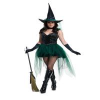万圣节服装化妆舞会恐怖女王服装女巫师服女巫婆服装