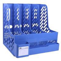 文件夹办公用品收纳盒文件架资料架学生用书架简易文件框桌上书立档案架文件栏文具筐