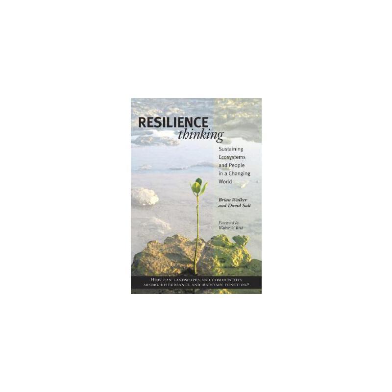 【预订】Resilience Thinking 9781597260930 美国库房发货,通常付款后3-5周到货!