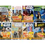 英文原版 DK Readers L2 Star Wars 8册 星球大战儿童版 DK分级读物 儿童图画故事书