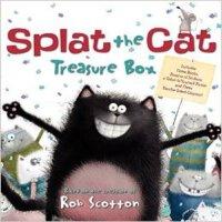 现货 英文原版Splat the Cat啪嗒猫雷第猫套装 汪培�EI can read