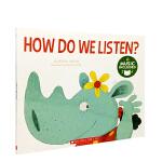 英文原版 How Do We Listen 书+CD 2-8岁