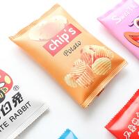 笔盒男女生简约零食文具袋创意学生大容量韩版铅笔袋