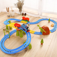 越诚托马斯电动小火车套装轨道车益智汽车儿童玩具2-3-4-6岁男孩