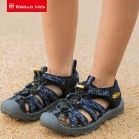 【3折价:99元】探路者儿童沙滩鞋 春夏新款户外童装轻便舒适时尚沙滩鞋QFKG85025