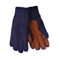 冬季儿童滑雪手套防滑 男童双层加厚保暖手套 学生加绒针织手套