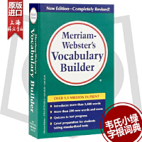 英文原版 Merriam Webster s Vocabulary Builder 韦氏字根词典 9780877798552