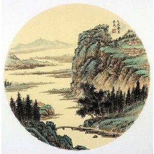 费波《山水图》二  河南美院 省美协会员 有作者本人授权