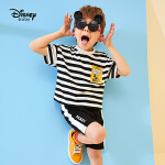 【2件3折价:56.7】迪士尼童装儿童男童夏装新款米奇短袖运动套装宝宝休闲两件套洋气