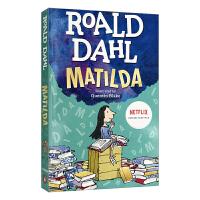 Roald Dahl Matilda 罗尔德达尔 玛蒂尔达 英文原版 儿童桥梁章节书 可搭查理和巧克力工厂