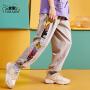 【2件3折:42.6元】小虎宝儿男童防蚊裤纯棉薄款夏季2021新款儿童裤子中大童潮