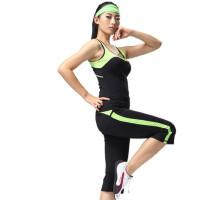 广场舞服装健身操服女套装健美操套装女士休闲运动服表演服