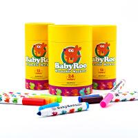 可水洗宝宝绘画彩笔幼儿涂鸦涂色画画笔套装 儿童水彩笔