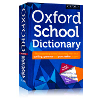 牛津学校字典词典Oxford School Dictionary 英文原版工具书 约4.5万词条 口袋书 英英字典词典
