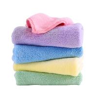 婴儿口水巾儿童小方巾婴儿毛巾宝宝洗脸巾棉纱布柔软吸水小方巾