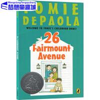 英文原版小说 26 Fairmount Avenue 繁梦大街26号 纽伯瑞银奖小说 儿童章节书