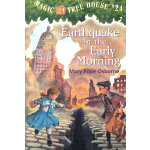 Magic Tree House #24 Earthquake in the Early Morning 神奇树屋24