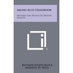 【预订】Amino Acid Handbook: Methods and Results of Protein Ana