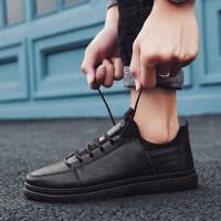 小皮鞋百搭潮鞋冬季男鞋2018新款男生鞋子男潮鞋韩版潮流休闲英伦