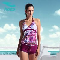浩沙游泳衣女 新款女士分体泳衣女保守 舒适性感温泉泳衣女